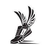 Icono del zapato del deporte Fotos de archivo