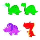 Icono determinado de Dino Foto de archivo libre de regalías