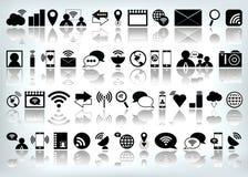 Icono determinado del ordenador del web de Internet del vector Fotografía de archivo libre de regalías