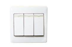 Icono eléctrico del Web del interruptor Imágenes de archivo libres de regalías