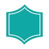 Icono elegante del sello de la insignia ilustración del vector