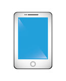 Icono elegante del teléfono, vector Imagen de archivo