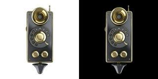 Icono elegante punky del teléfono del vapor del vintage Imagen de archivo libre de regalías