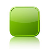 Icono en blanco verde stock de ilustración