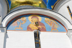 Icono en la trinidad Sergius Lavra Imágenes de archivo libres de regalías