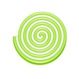 Icono espiral del caramelo de la jalea Fotografía de archivo