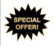 Icono/etiqueta engomada del Web de la oferta especial Imagen de archivo libre de regalías