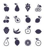 Icono fruit2 Foto de archivo libre de regalías