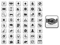 Icono global fijado para el web y el app libre illustration