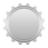 Icono gris vacío Imagen de archivo
