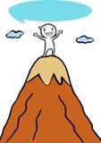 Icono Gugu en la montaña superior Fotos de archivo