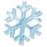 Icono helado del copo de nieve Imágenes de archivo libres de regalías