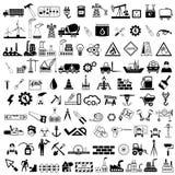 Icono industrial Imagen de archivo libre de regalías