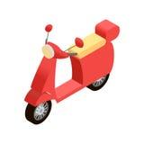 Icono isométrico de la moto Libre Illustration