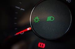 Icono ligero del coche Foto de archivo libre de regalías