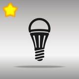 Icono llevado de la lámpara libre illustration