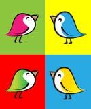 Icono/logotipo del vector Foto de archivo