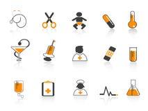Icono médico Fotos de archivo libres de regalías