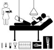 Icono médico Fotografía de archivo