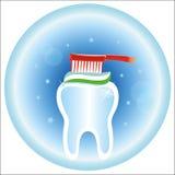 Icono médico del cuidado dental Foto de archivo libre de regalías