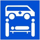Icono médico del vector libre illustration