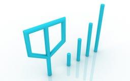 Icono móvil de la señal Imágenes de archivo libres de regalías