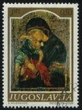 Icono Madonna de Medievel Imagen de archivo libre de regalías