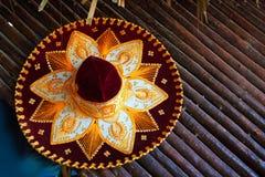 Icono mexicano del sombrero del mariachi de Charro de México foto de archivo libre de regalías