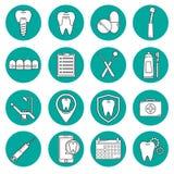 Icono moderno del vector dental Foto de archivo libre de regalías