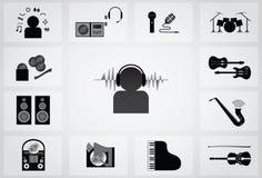 Icono musical libre illustration