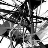 Icono nervioso agudo de la flecha 3d en más color con efecto biselado ilustración del vector