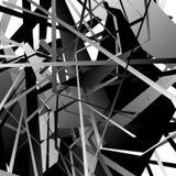 Icono nervioso agudo de la flecha 3d en más color con efecto biselado stock de ilustración
