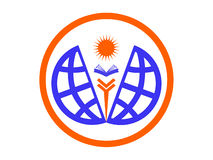 Icono o logotipo de la educación del mundo libre illustration