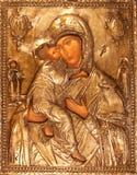 Icono ortodoxo Fotografía de archivo