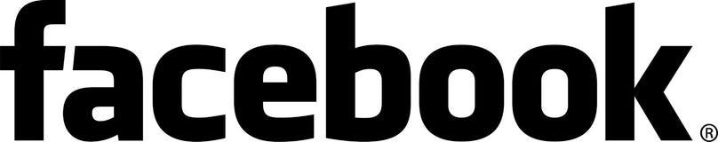 Icono oscuro del facebook