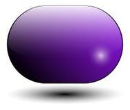 Icono púrpura Imagen de archivo libre de regalías