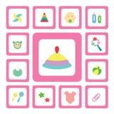Icono para el bebé Fotos de archivo