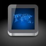 Icono para el ordenador de la tableta Imágenes de archivo libres de regalías