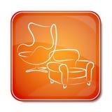 Icono para los muebles Imagen de archivo