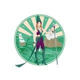 Icono para Víspera de Todos los Santos Imágenes de archivo libres de regalías