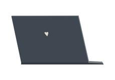 Icono plano del ordenador portátil libre illustration