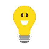 Icono positivo de la sensación Diseño de pensamiento Gráfico de vector Fotos de archivo libres de regalías