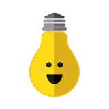 Icono positivo de la sensación Diseño de pensamiento Gráfico de vector Imágenes de archivo libres de regalías
