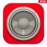 Icono realista del Presidente de la carga de los sonidos Vector Fotografía de archivo libre de regalías