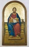 Icono religioso fotografía de archivo