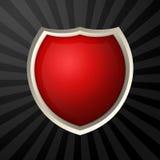 Icono rojo Imágenes de archivo libres de regalías