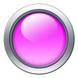 Icono rosado Imagen de archivo libre de regalías