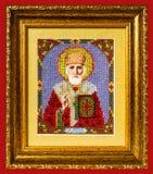 Icono San Nicolás fotos de archivo