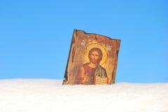 Icono santo Foto de archivo libre de regalías