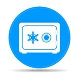 Icono seguro del vector Fotos de archivo libres de regalías
